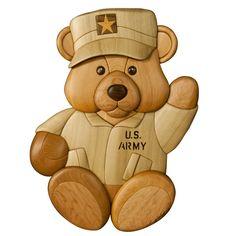 US ARMY TEDDY BEAR
