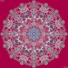 Mary Katrantzou  started the digital jewel print a few years ago. This season also saw jewel prints from Oscar de la R...