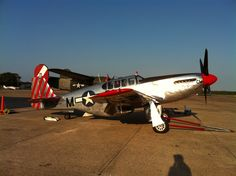 A rare TP-51C @ Cape May County Airport last week. I had flown in for breakfast.