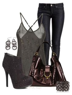 """""""Untitled #434"""" by cw21013 ❤ liked on Polyvore featuring GUESS, Gucci, JustFab and Daisy Fuentes"""
