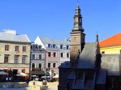 Plac po Farze   Po Farze Square #placpofarze #pofarzesquare #oldtown #lublin #poland #polska #seeinpoland # travel