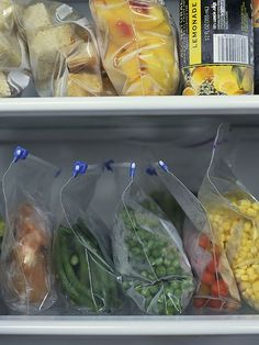 How to flash freeze fresh produce, meat and baked goods.