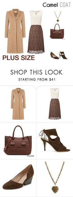 """""""Untitled #103"""" by jessicasanderstx ❤ liked on Polyvore featuring Phase Eight, Aquazzura, Eileen Fisher, Etro, plus, curvy, camelcoat and september2016"""