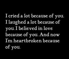 breaking up quotes. OMG- A Kpop Quote from After School Because Of You S. so kick him in the balls and look for the guy that fills your heart instead of emptying it. Favorite Quotes, Best Quotes, Moving On Quotes, I Believe In Love, Sad Love Quotes That Will Make You Cry, You Broke Me Quotes, Breaking Up With Someone You Love, Broken Heart Quotes, Heart Broken