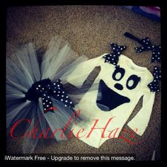 Http//:www.facebook.com/taybabycharlie  Ghost :) order yours today! Halloween!
