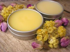 Mandarin Nutmeg essential oils lip balm.