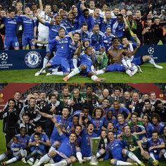 Two years in a row. Champions of Europe. Chelsea Football Team, Blue Dream, Chelsea Fc, Love Affair, The Row, Dolores Park, Champion, Europe, Dreams