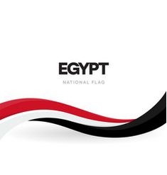 Egypt flag on white background Royalty Free Vector Image Flat Background, New Background Images, Free Vector Images, Vector Free, Egyptian Flag, Women Lawyer, Web Design, Graphic Design, National Flag