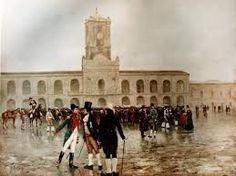 Vestimenta del pueblo el 25 de mayo de 1810