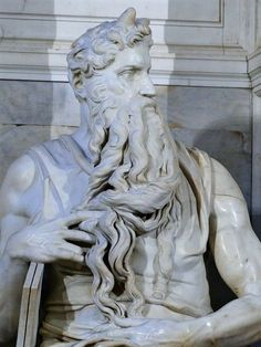 RT @dcq_italia: Famous #Michelangelo statue of Moses has been unveiled after three-year-long cleanup! #Rome #Roma #Italy https://t.co/ET7rHTBf4J