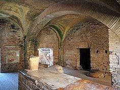 Termas. Ostia Antica constituyó el principal puerto comercial de Roma durante la época de la República.