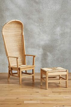 Handwoven River Reed Chair - anthropologie.com   $998.00