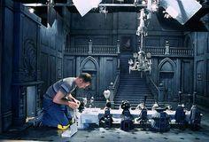 "Stage design ""CORPSE BRIDE""(2005) Tim Burton."