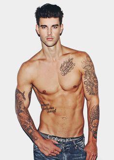 ADONIS ARCHIVE Garotos descolados, model, male, man, homen, modelo, tattoo, inked, boy. Seguiam @GarotosDescolados no instagram para mais!