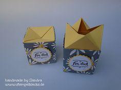 Verpackung mit Pop-up Verschluss Pop Up, Container, Packing, Inspiration, Handmade, Boxes, Packaging, Tutorials, Do Crafts