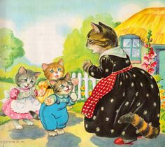 Mother Goose Rhymes - illustrated by Eulalie (1953).