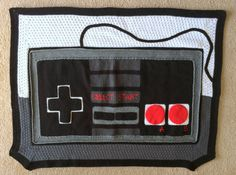 Game Controller Crochet Blanket