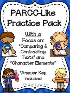"""CHECK OUT THESE SIMILAR ELA PARCC PRACTICES:PARCC-Like Practice #1: ELAPARCC-Like Practice #2: ELAPARCC-LIKE PRACTICE #3: ELA DESCRIPTION-This is PARCC-like practice for the English Language Arts section of the test. This will really help your students become familiarized with the """"Part A"""" and """"Part B"""" format."""