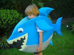 Shark Costumes, Animal Costumes, Diy Costumes, The Little Mermaid Musical, Little Mermaid Costumes, Costume Halloween, Starfish Costume, Sea Creature Costume, Under The Sea Costumes