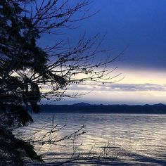 Beautiful monochromatic sunset on Hood Canal. Thanks for sharing @canalpat. #hoodcanal #explorehoodcanal #sunset #blue #sky #water #washington #beauty #nature #evening #love #upperleftusa #pnw