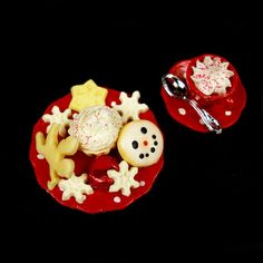 Cappuccino and Cookies Dollhouse Miniature by DollhouseKitchen