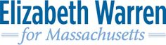 Elizabeth Warren for Senator of Massachusetts