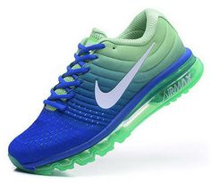Mens Nike Air Max 2017 Blue Green Australia