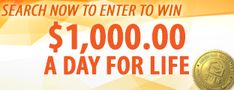 Search & Win 10 Million Dollars, Win For Life, Winner Announcement, Michael Collins, Congratulations To You, Publisher Clearing House, Winning Numbers, Lucky Penny, Enter To Win