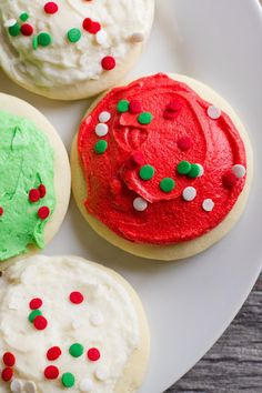 Lofthouse Sugar Cookies. These cookies are soft and delicious. I baked for 7 minutes and omitted the almond extract. I also used my own buttercream frosting. Super easy to make.