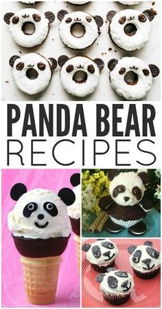 Want a little panda fun for your next party or just for a regular weekday? Here are some of our favorite cute panda bear recipes you won't want to miss! The best party ideas for a panda themed birthday party! Panda Birthday Party, Panda Party, Bear Party, Birthday Parties, 9th Birthday, Panda Themed Party, Birthday Ideas, Panda Food, Panda Baby Showers