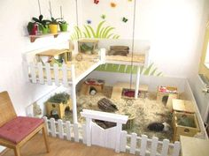 Be inspired by these amazing hamster cages! You can always create a unique hamster cage that you and your hammy equally love. Cage Hamster, Diy Guinea Pig Cage, Guinea Pig Hutch, Guinea Pig House, Pet Guinea Pigs, Pet Cage, Hedgehog Cage, Hedgehog House, Guinea Pig Food