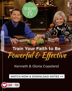 Are you struggling with your faith? God has given every born-again believer His faith. That means you already have everything you need to get your faith working. Watch this week's Believer's Voice of Victory broadcast as Kenneth and Gloria Copeland teach you how to grow and develop your faith, so it is a powerful and effective force in your life! Watch at kcm.org/watch