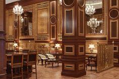 ''Jumeirah Zabeel Saray'' by Arketipo Design #Interior #Restaurant #Cigare #Lounge