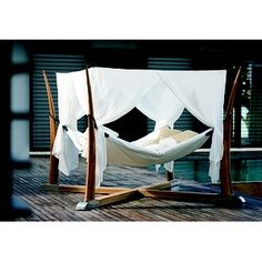 Kokoon Outdoor Bed / Hammock By Royal Botania I Want One Of These! Looks  Like The Most Comfortable Thing Ever.