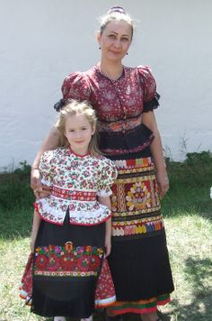 visiting home my little Sofie had the opportunity to wear an original Hungarian Matyó folk dress Folk Clothing, Hungary, Opportunity, Captain Hat, Portraits, Culture, Costumes, Traditional, Embroidery