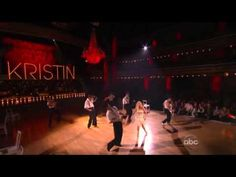 Kristin Chenoweth performing Maybe This Time and I Could Have Danced All Night on DWTS...what a performance