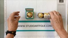 Ferrero Rocher emballage cadeau Stampin' Up! Chocolat Ferrero Rocher, Stampin Up, Candy Crafts, Make It Yourself, Youtube, Boxes, Tutorials, Crates, Paper Envelopes