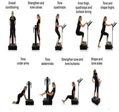 Power Plate Exercises Anti Aging Exercise Pinterest