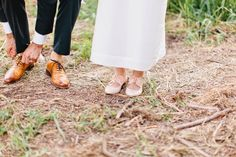 Nontraditional wedding shoes | Oxfords for wedding day!