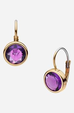 Michael Kors 'Botanicals' Drop Earrings