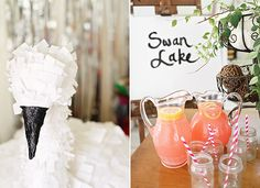 Swan Lake 2nd Birthday Party | 100 Layer Cakelet