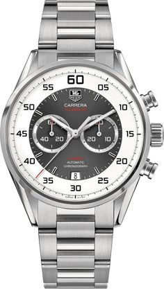 TAG Heuer Watch Carrera Chronograph Flyback Calibre 36 #bezel-fixed #bracelet-strap-steel #brand-tag-heuer #case-material-steel #case-width-43mm #chronograph-yes #date-yes #delivery-timescale-call-us #dial-colour-silver #flyback-yes #gender-mens #luxury #movement-automatic #official-stockist-for-tag-heuer-watches #packaging-tag-heuer-watch-packaging #style-sports #subcat-carrera #supplier-model-no-car2b11-ba0799 #warranty-tag-heuer-official-2-year-guarantee #water-resistant-100m