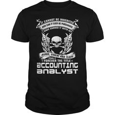 I Own It Forever The Title Accounting Analyst T Shirt, Hoodie Accounting Analyst