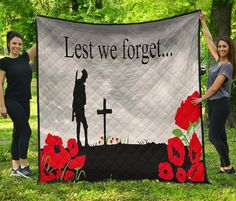 ⭐⭐⭐⭐⭐ 🔥 Lest We Forget Quilt for just $44.99 Free Shipping! 🚚 ➤