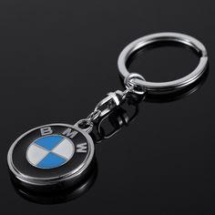 Zinc Alloy Metal Car Logo Keychain for BMW Key Chain Key Ring Keyring Key Holder Chaveiro Car Styling Accessories