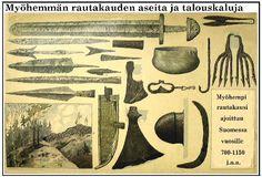 Slideshow for album :: Suomen historia Viking Age, Dark Ages, Finland, Mythology, Vikings, Medieval, Vintage World Maps, Iron, Painting