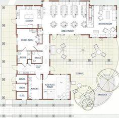 La Querencia Commhouse Floor Plan Hippie HouseTiny