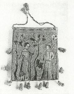 Aumônières, otherwise known as alms purses - La cotte simple
