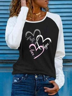 Shirts & Tops, Casual Shirts, Printed Blouse, Printed Cotton, Shirt Bluse, Crew Neck Shirt, Blouse Styles, Blouses For Women, Fall Outfits