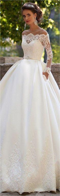 Lace Wedding Dresses (154) #weddingdress